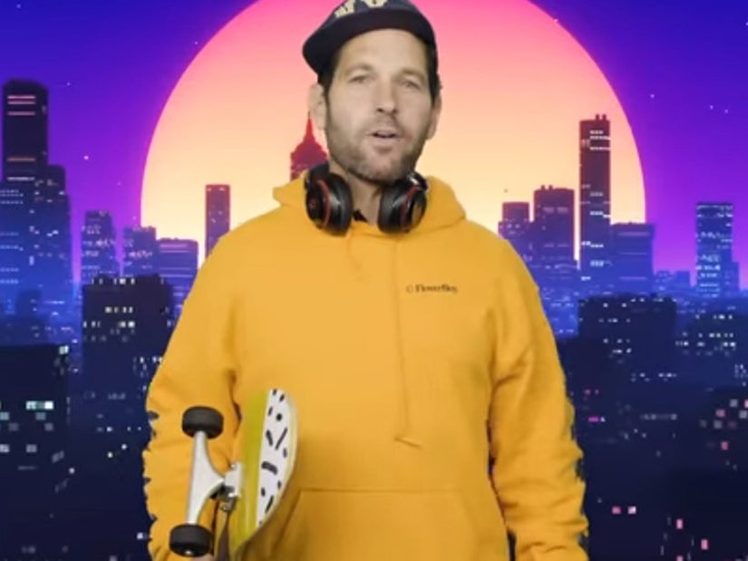 Certified Young Person Paul Rudd Talks To Us Millennials About Wearing Masks In Hilarious Psa