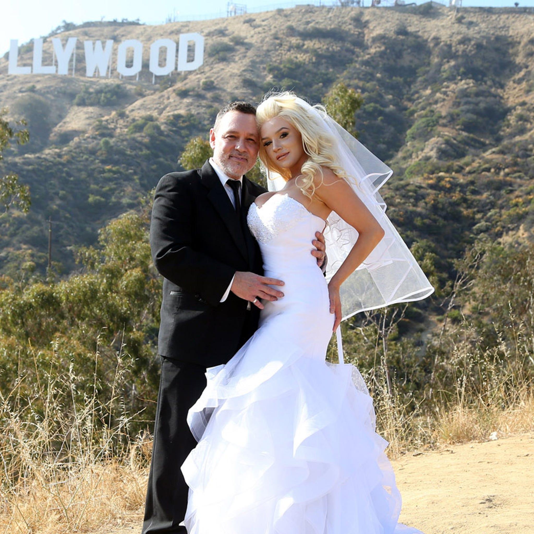 Pregnant Courtney Stodden & Doug Hutchison Renew Vows for 9th