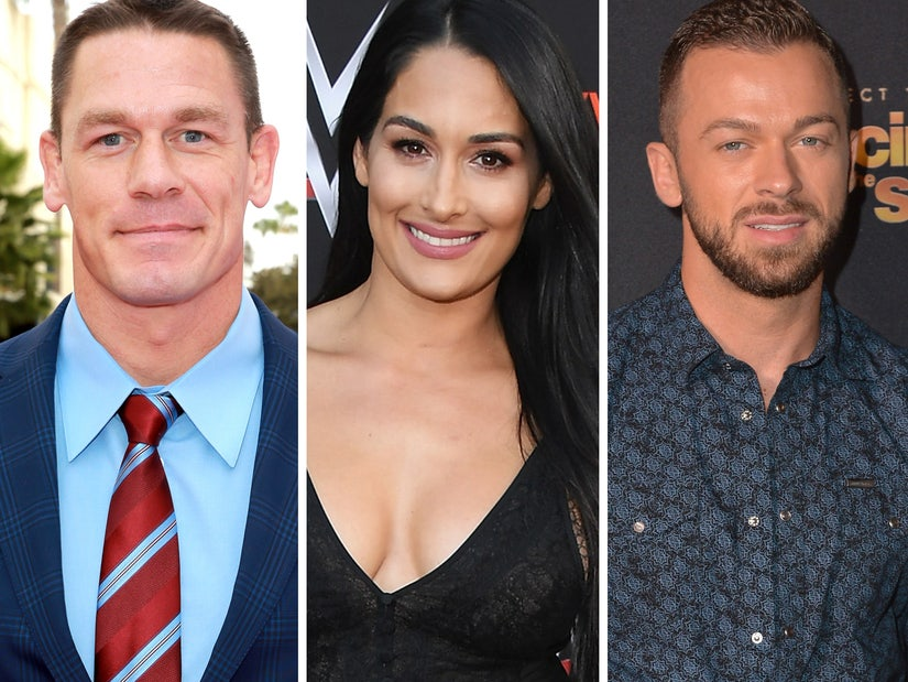 Nikki Bella Says Dancing With Artem On Dwts Was Uncomfortable When Engaged To John Cena