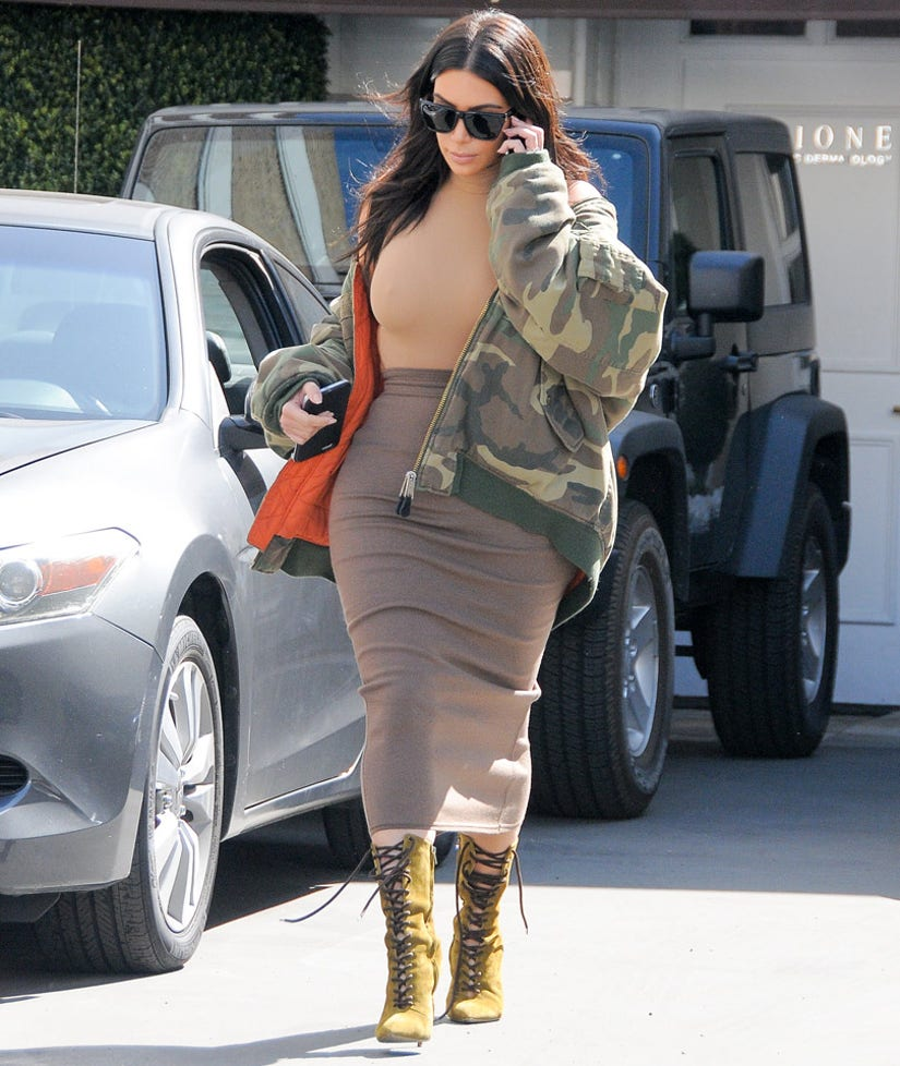 Kim Kardashian Is Back to Her Pre-Baby Weight Just Five Months After Giving Birth