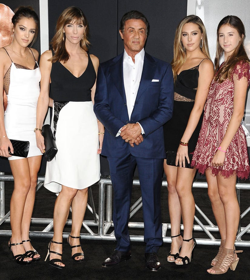 Sylvester Stallone's Gorgeous Daughters Steal the ...
