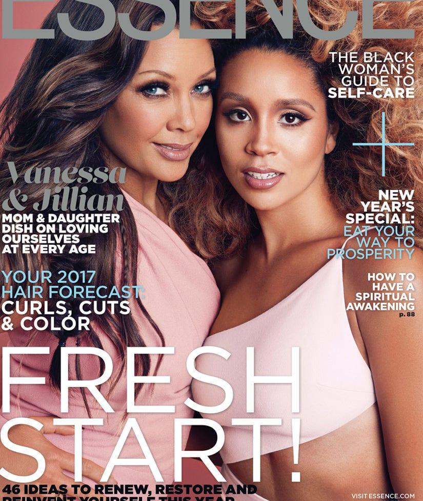 Vanessa Williams Covers Essence Magazine With Gorgeous Daughter Jillian Hervey