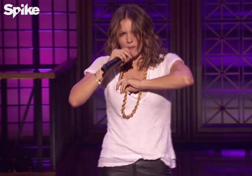 Katharine Mcphee Shows Us What She S Working With On Lip Sync Battle