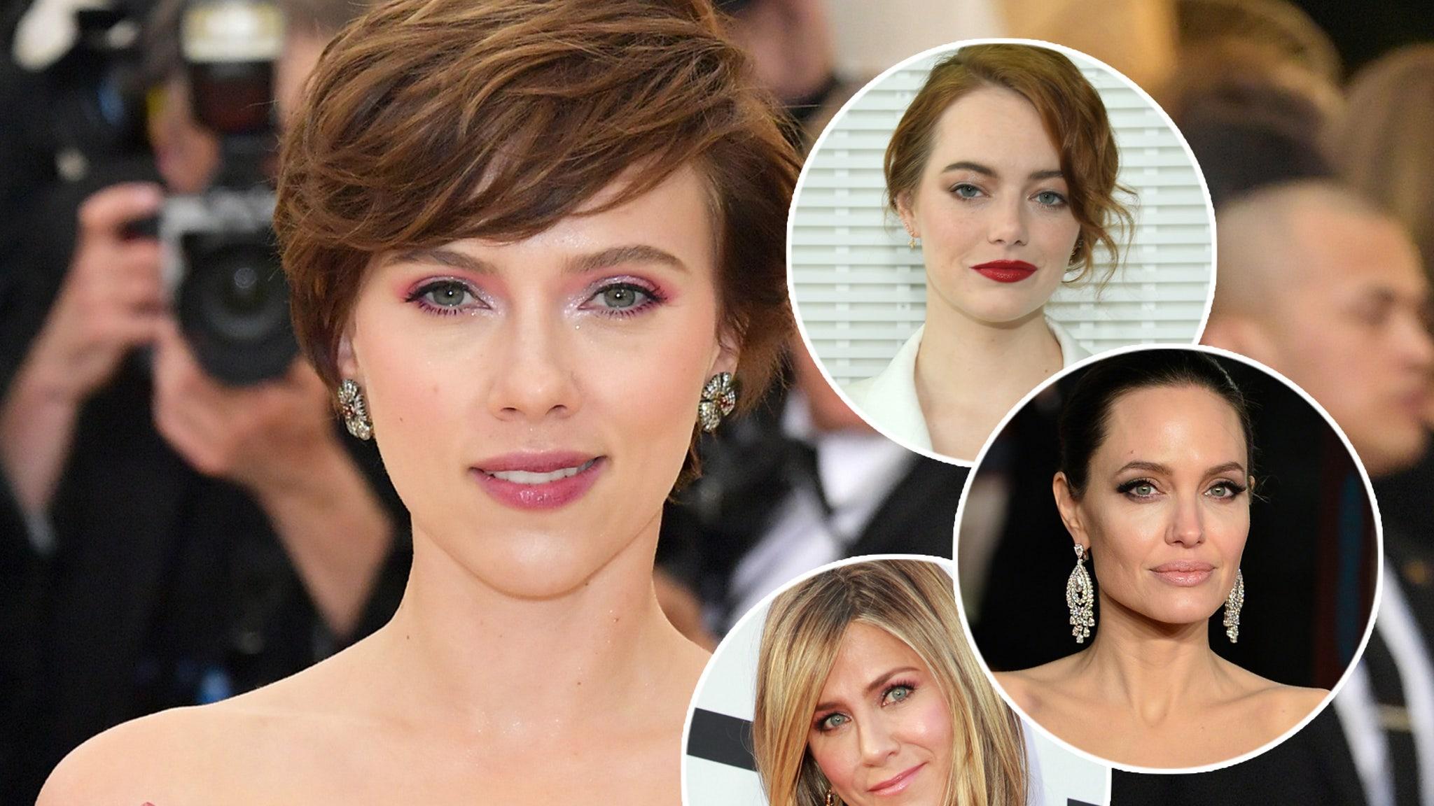 Tussel Between Angelina Jolie & Jennifer Aniston Over Brad