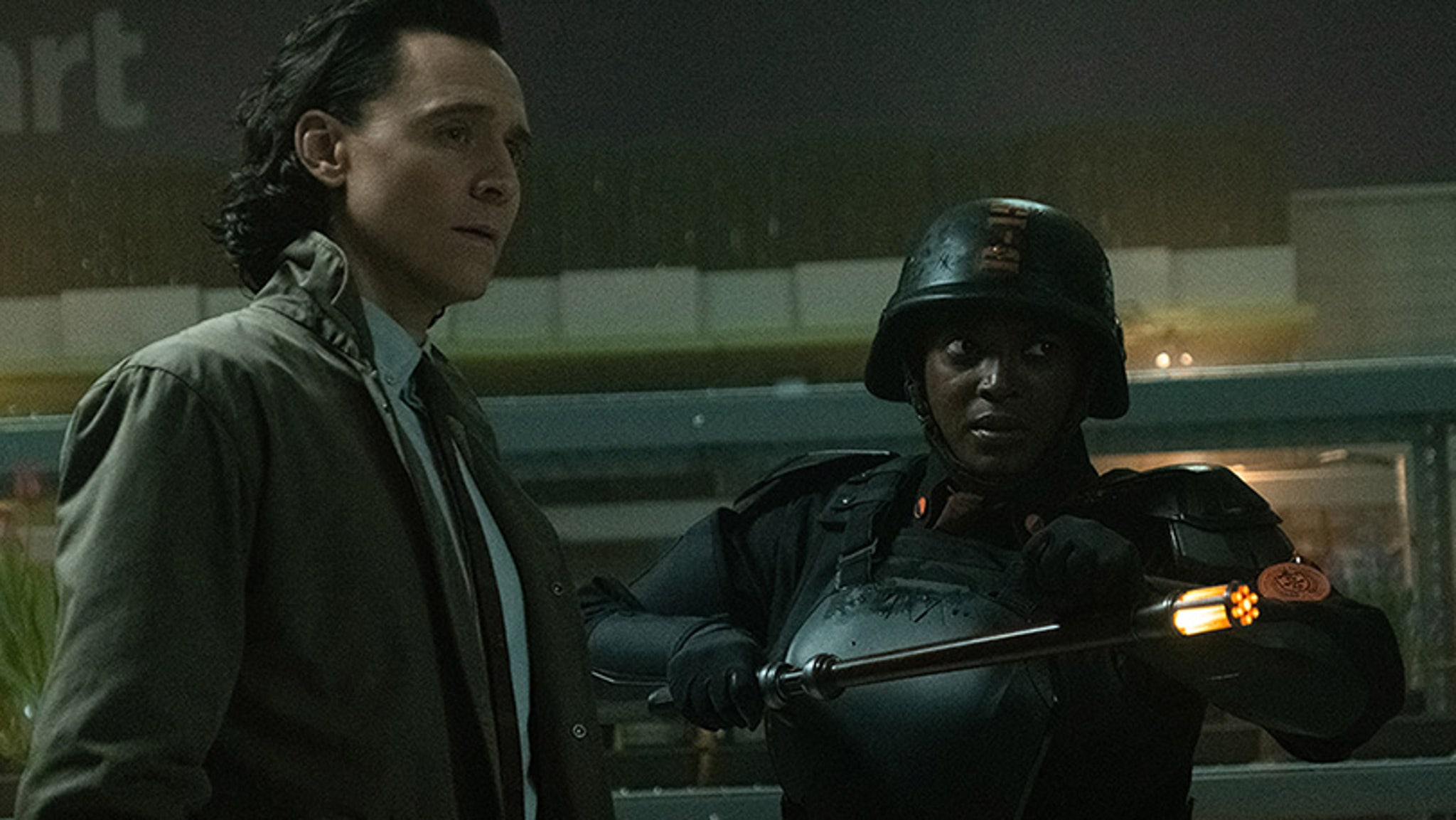 Loki finally comes face to face with his evil variant