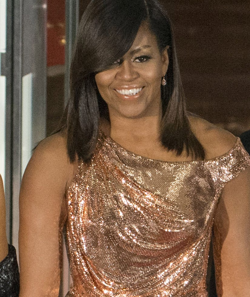 Michelle Obama Shuts It Down At Last State Dinner, While Nicki Minaj Is Overexposed