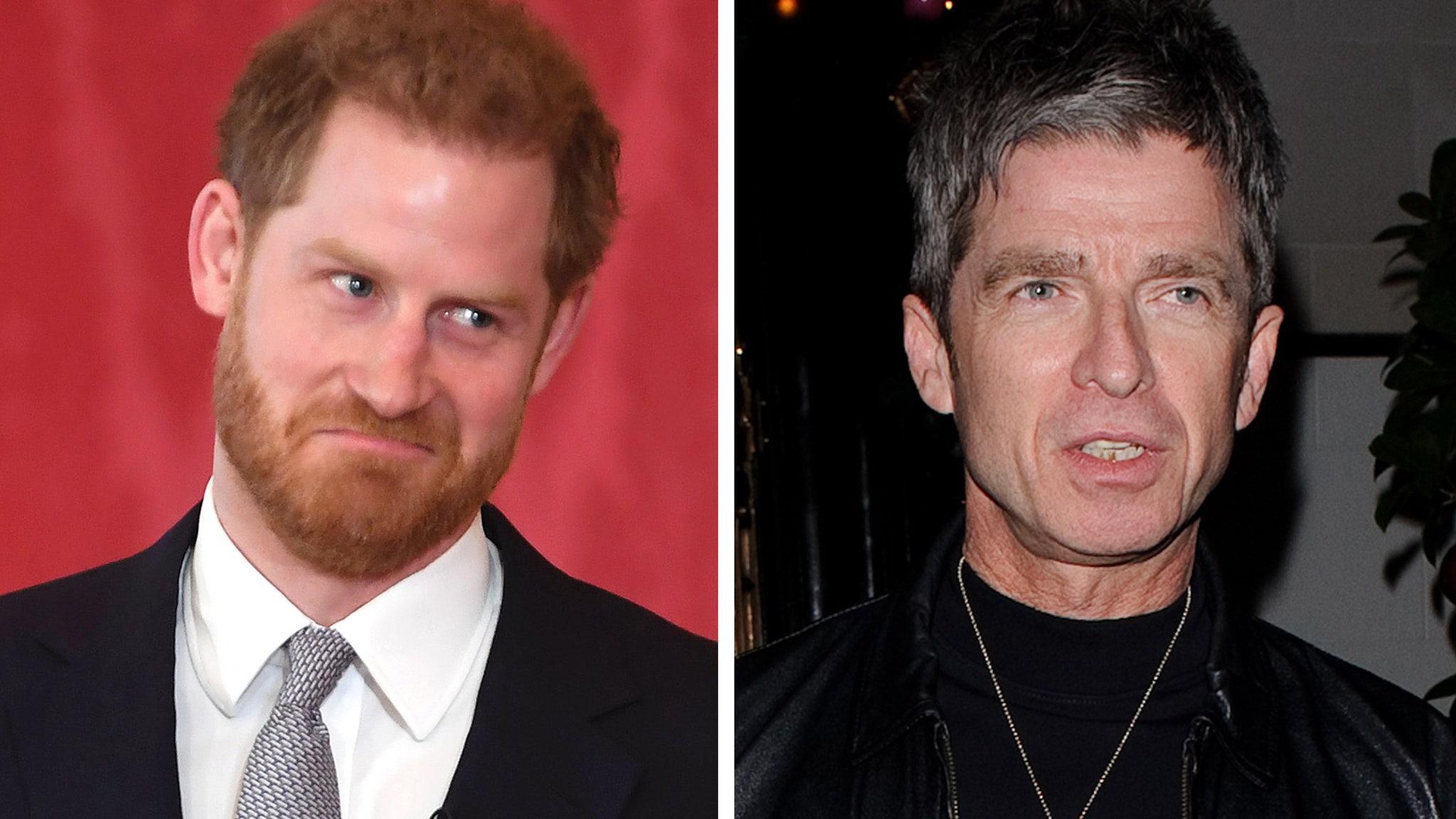 Noel Gallagher calls Prince Harry an 'awake snowflake'
