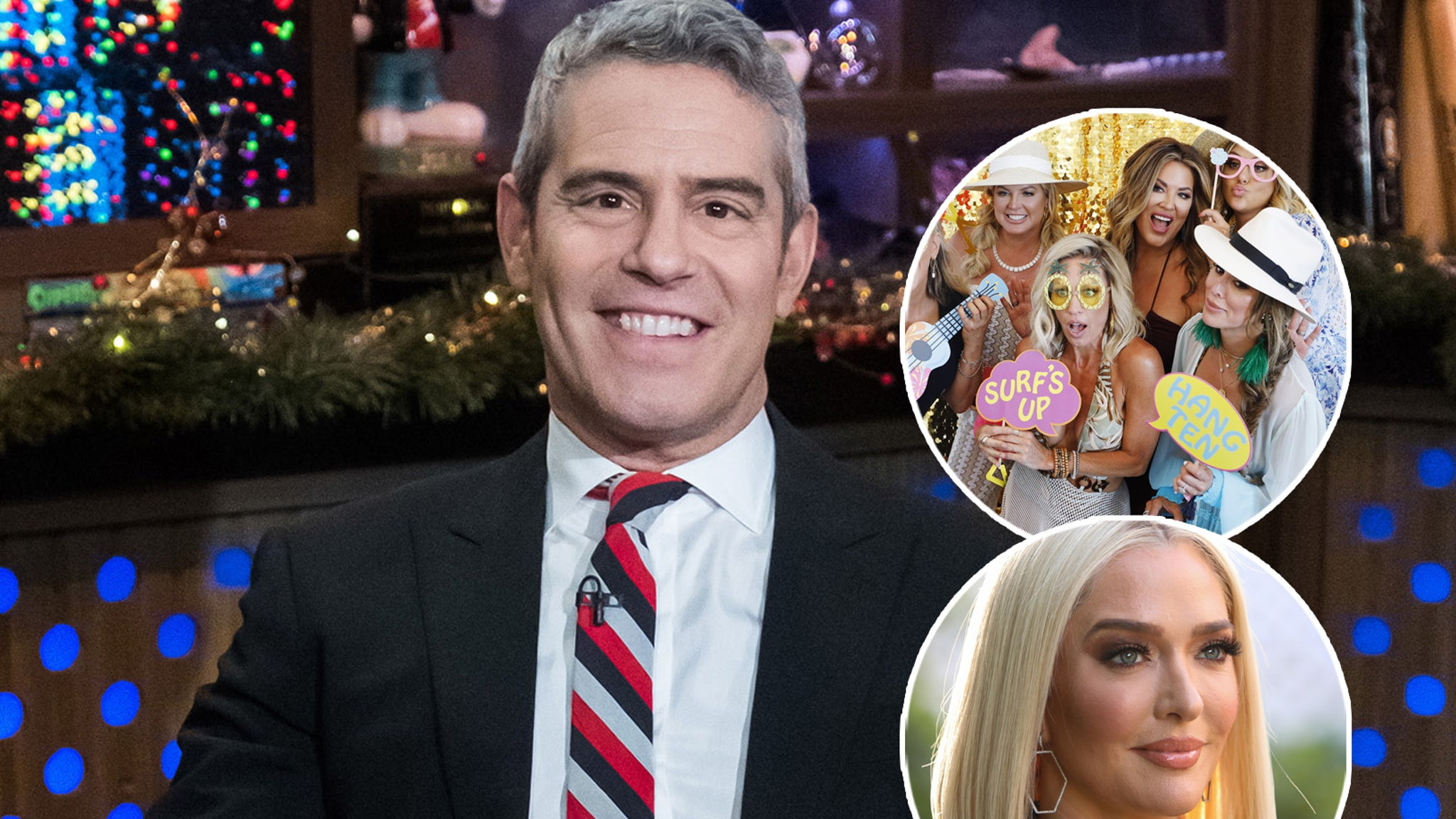 Andy Cohen talks about RHOC Shakeup, The Future of Erika Jayne