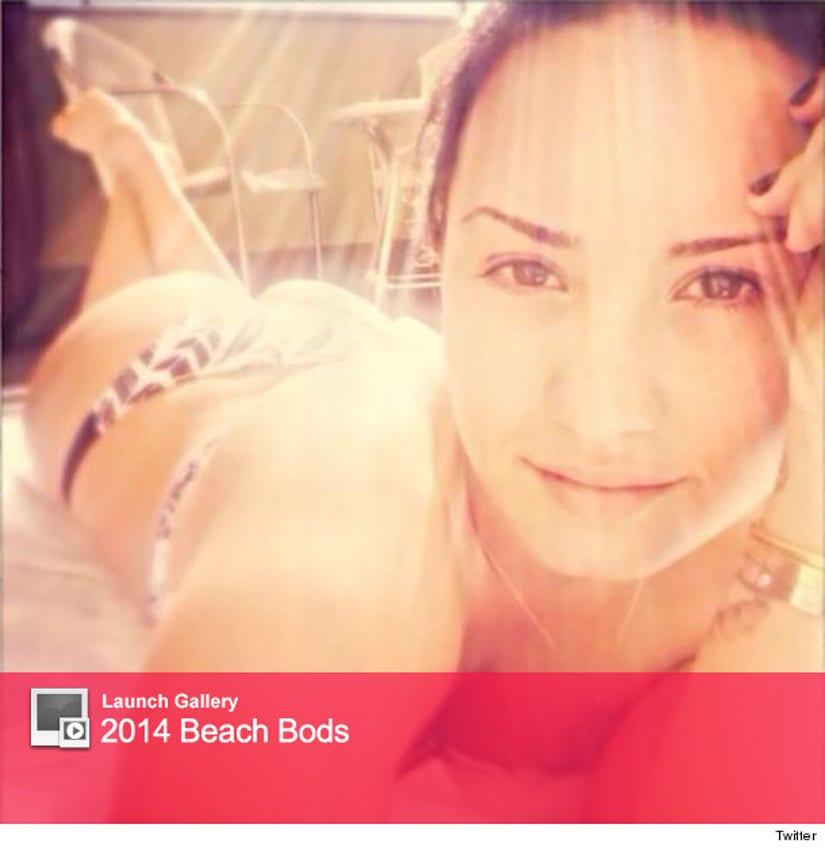 Demi Lovato Bikini Selfie: When in Brazil - The