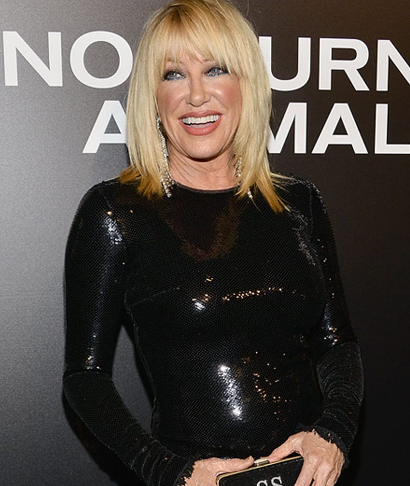 Suzanne Somers' Secret to Staying Young Includes ... Tequila?!