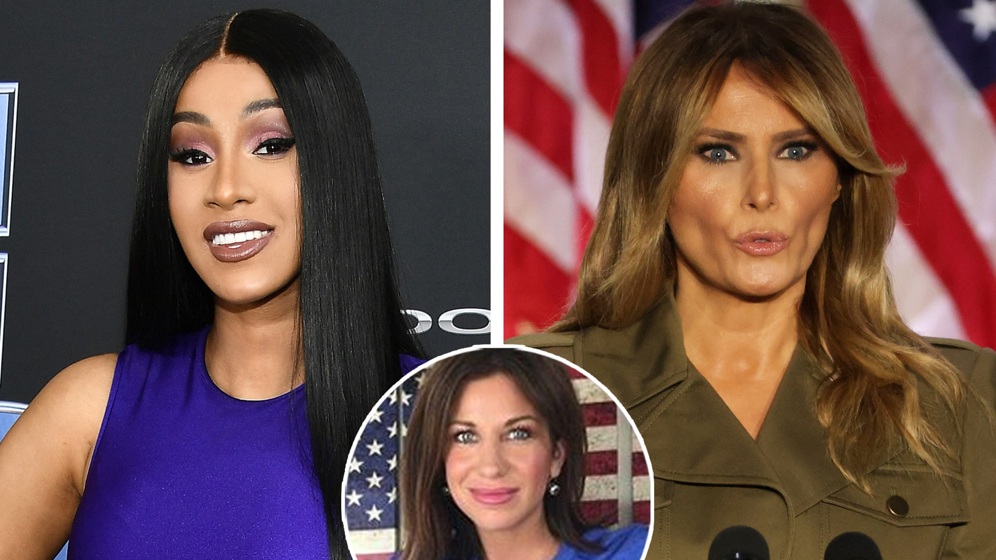 Cardi B Tweets About Melania Trump's WAP In Clapback to Republican Critic - TooFab
