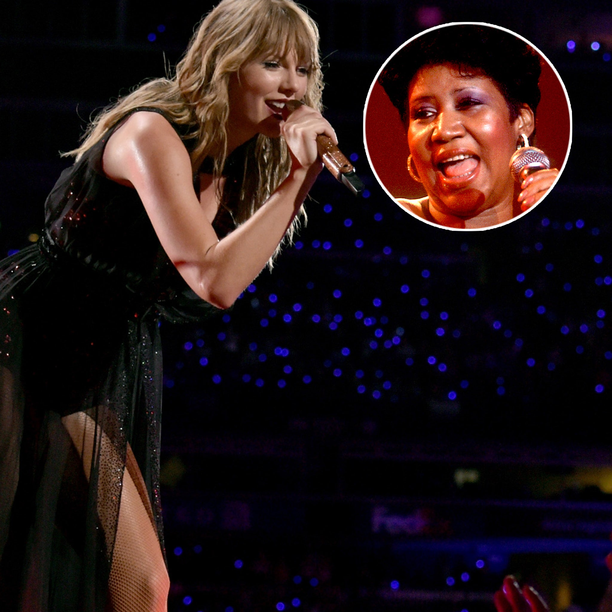 How Taylor Swift Honored Irreplaceable Aretha Franklin During Detroit Concert