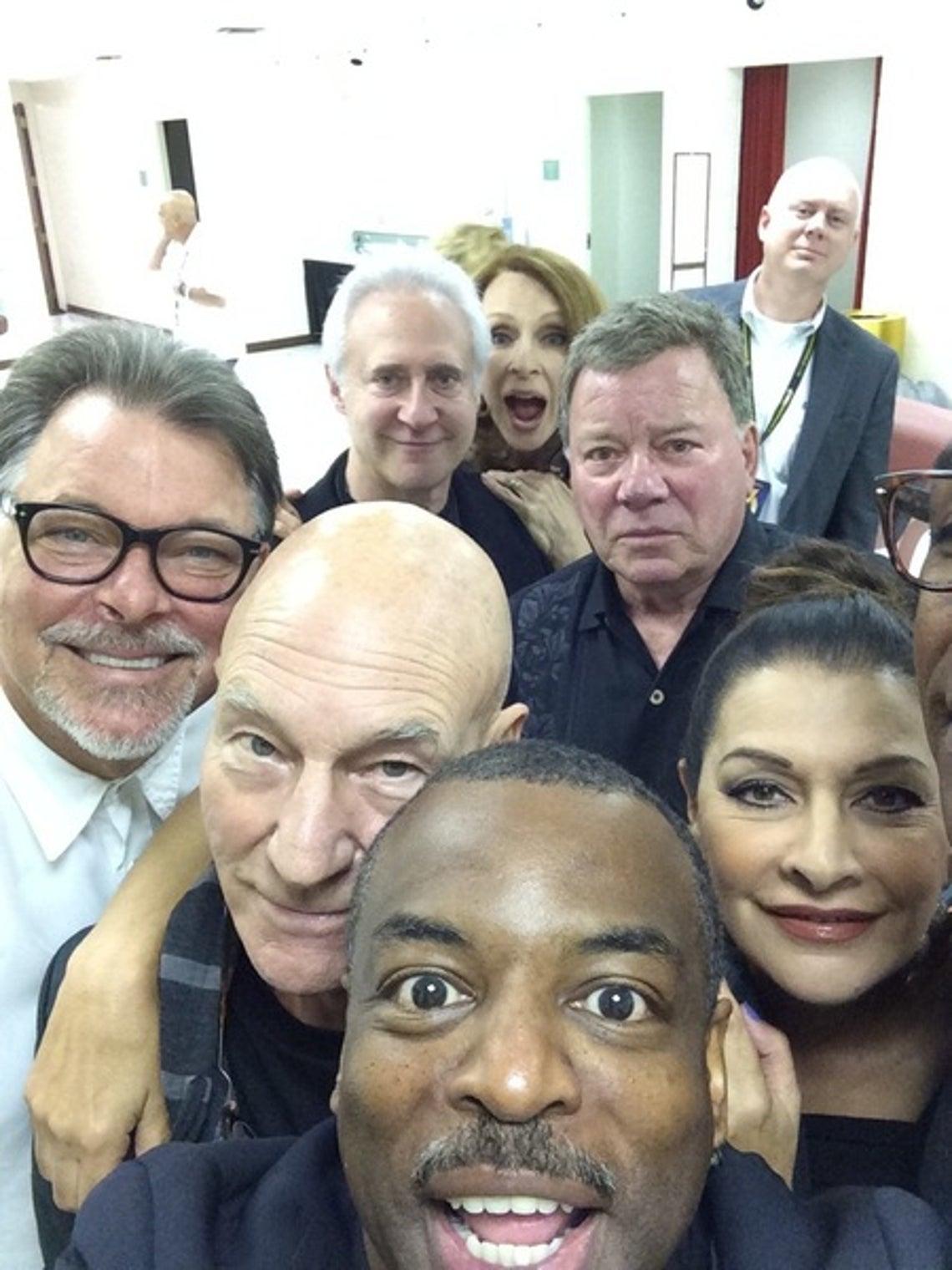 "Star Trek: The Next Generation"" Cast -- Then & Now"