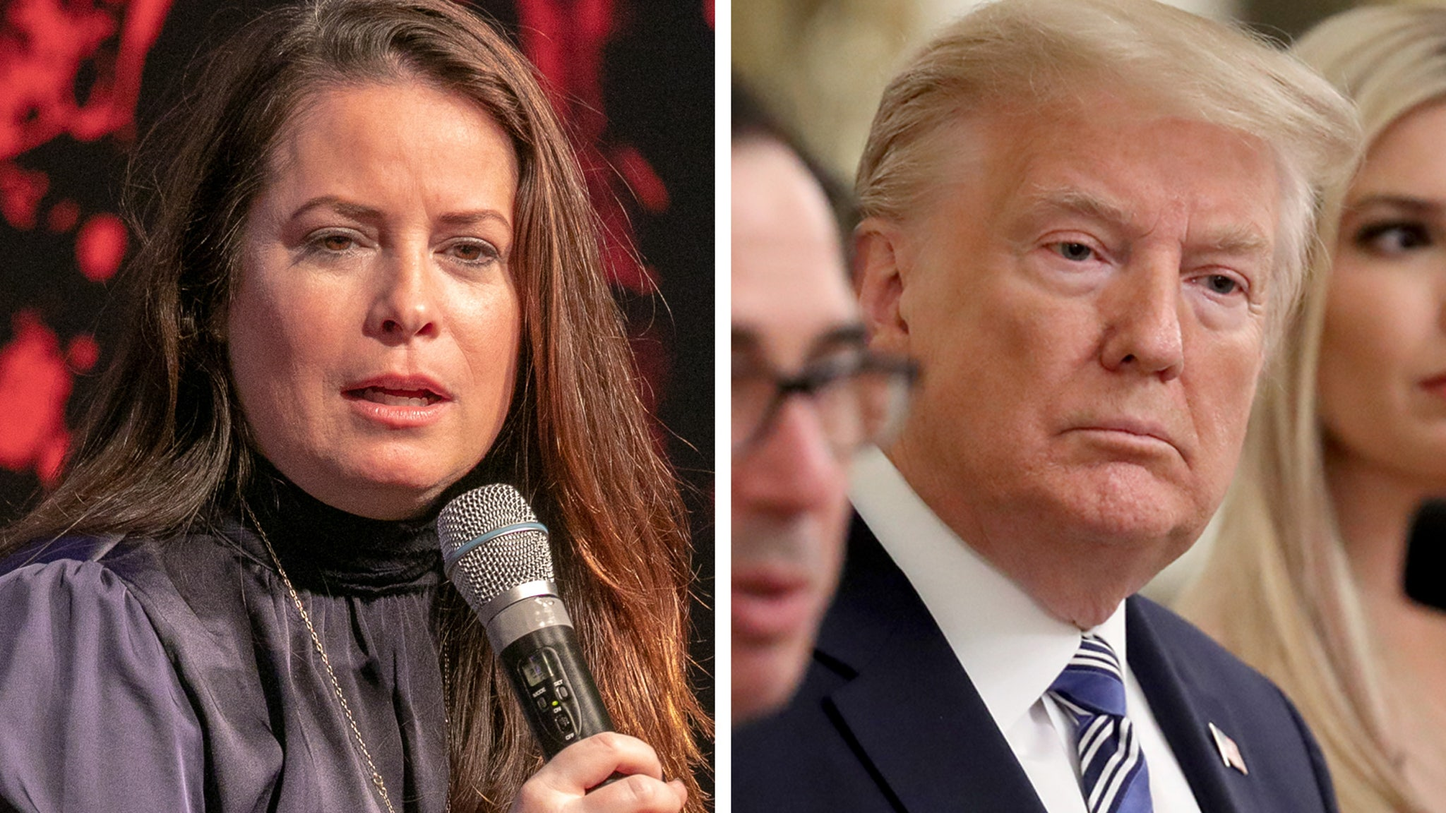 Charmed Star Blames Trump After Her Grandfather Dies of COVID-19